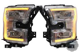 ford f150 headlight bulb 2015 2017 ford f150 complete oem led headlight upgrade package
