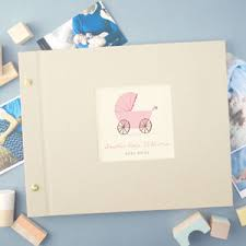 photo albums for babies personalised photo albums for babies