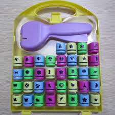 free shipping of craft punch set for scrapbook handmade paper