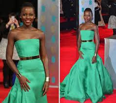 lupita nyong u0027o green dress how to copy her bafta style style