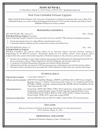 sample resume format for freshers software engineers new sample