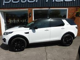 land rover discovery sport 2017 white used 2015 15 land rover discovery sport sd4 hse 2 2d 190bhp for