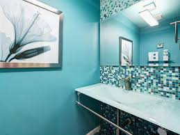 bathroom ideas blue bathroom small blue bathroom with white floating vanity cabinet