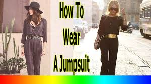 how to wear a jumpsuit winter 20 style tips on how to wear a jumpsuit this