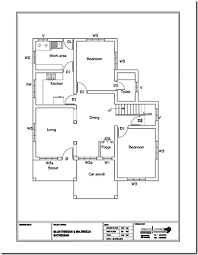 home plan design modern 610 sqft 3bhk independent house villa floor plan