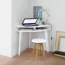 mini bureau ordinateur gain de place pour le coin informatique bureau console d angle
