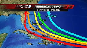 category 4 hurricane irma makes dangerous trend towards the u s