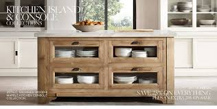 Restoration Hardware Kitchen Island Lighting Restoration Hardware Kitchen Island Console Collections Rh