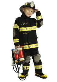 Boy Toddler Costumes Halloween Boys Black Fireman Costume Toys 2 3 Boys