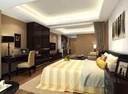 decorations elegant bedroom ceiling idea with smart lighting