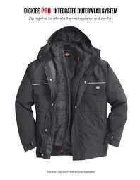 puffer jacket dickies pro glacier dickies