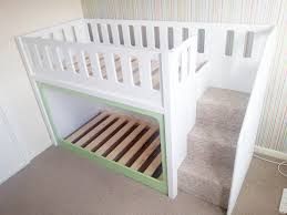 Charlie Twin Bunk Bed White Leons Click To Change Image  Idolza - Lo line bunk beds