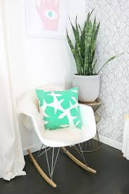 Diy Pronunciation Felt Palm Leaf Pillow Diy U2013 A Beautiful Mess