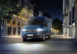 new volkswagen bus electric volkswagen unveils e crafter electric van 124 mile range arrives