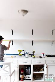 Small Kitchen Open Shelving How To Create Clutter Free Stunning Diy Open Shelving