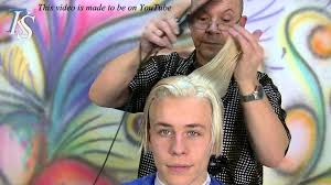 jesse i just want to be blonde man haircut and color by t k s