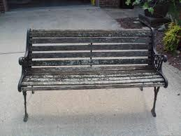 Aluminum Park Benches Bench Park Bench Slats A New Chapter Diy Restoring A Park Bench