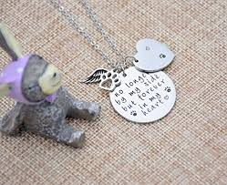 pet memorial jewelry o riya loss of pet necklace dog cat sted jewelry pet