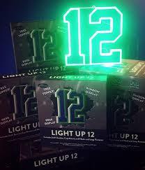 seahawks light up sign light up 12 get12s com