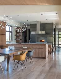 Kitchen Cabinet Apush A Family In Wyoming Goes Contemporary Contemporist