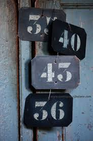 Pewabic Tile House Numbers by 514 Best Images About Numbers On Pinterest