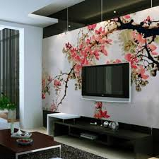 Wohnzimmer Japanisch Einrichten Deko Tapete Wohnzimmer Japanischer Stil Modernes Wohnzimmer Tapete