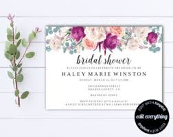 printable bridal shower invitations printable bridal shower invitation vintage floral invitation