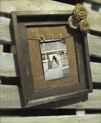 25 best burlap picture frames ideas on pinterest country