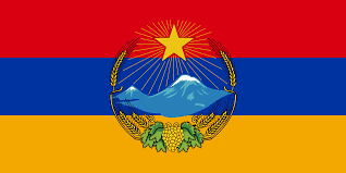 Honor Flag In Honor Of Armenian Genocide Remembrance Day The Flag Of A