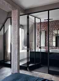 chambre salle de bain salle de bain ouverte sur chambre idées décoration intérieure