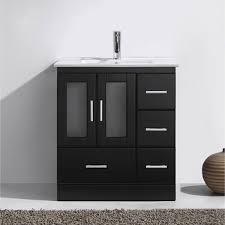 Zola Bathroom Furniture Zola 30 Inch Ceramic Single Bathroom Vanity Set Free Shipping