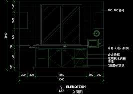 interior layout dwg autocad kitchen design interior design kitchen cad block autocad