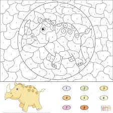 Color By Disney Coloring Page Stunning Cat Color By Number To Print 34 About