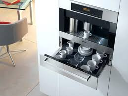 Built In Drinks Cabinet Coffee Machine Kitchen Islands Cabinet With In Wall Maker Built