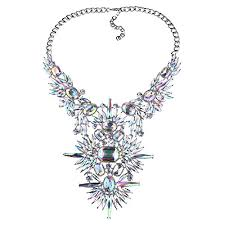 crystal necklace statement images Nabroj statement bib necklace large bold stunning jpg