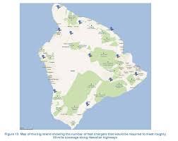 Map Of Hawaii Island Hawaii U0027s Big Island Goes U201cbig U201d On Electric Vehicle Charging