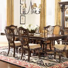 Rectangle Dining Table Design Fairmont Designs Grand Estates Double Pedestal Rectangular Dining