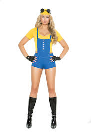 Minion Halloween Costumes Girls Subordinate Minion Costume Minion Costume Despicable