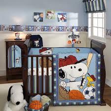 nursery cute design snoopy crib bedding u2014 boyslashfriend com