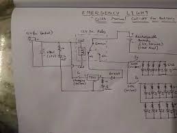 emergency light circuit youtube