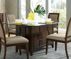 dining room best wood table bases for glass tops modern glass