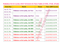 bpl 2017 schedule time table learn new things pakistan vs sri lanka 2017 schedule time table