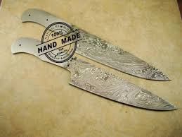 blank blade damascus butchers cleaver chef u0027s knife blank blade