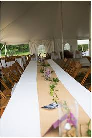 Kraft Paper Table Cloth Casual Outdoor Wedding With Vintage Details The Budget Savvy Bride
