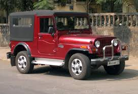 modified open thar file mahindra thar in dark red jpg wikimedia commons