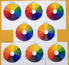 eight color wheel combinations creative color