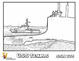 big boss coloring pages print submarine submarine free