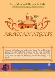 Exotic Theme Arabian Nights Theme Party For Kids U2013 Mocomi Com