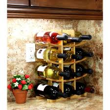 Home Design Products Inc Home Design Handmade Countertop Wine Rack By Products Inc