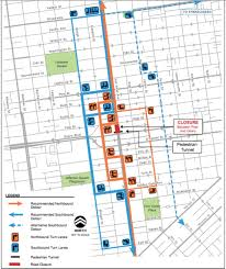 Caltrans Traffic Map Heads Up Street Closures Coming To Van Ness This Week Hoodline